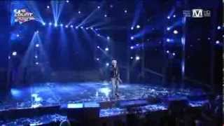 130912 G Dragon No1  Encore @ M! Countdown Comeback Stage BLACK