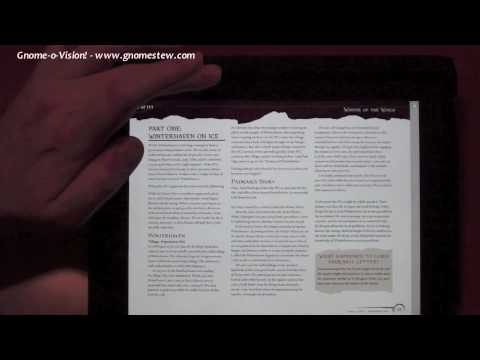 A GM's Guide to the iPad in RPGs, Part 1