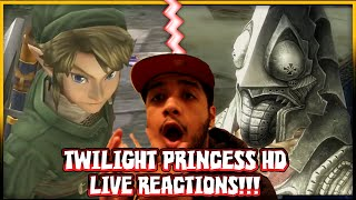 The Legend of Zelda Twilight Princess HD LIVE REACTIONS!! - Nintendo Direct