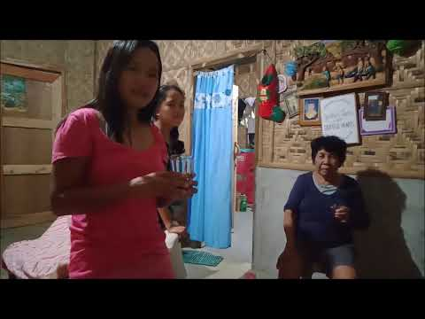 FILIPINA WIFE DRUNK ALL THE ALCOHOL DRINK  GIFT FROM AMERICA? NANAY'S REACTION