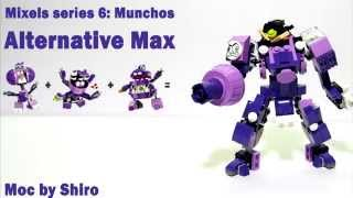 [LEGO САМОДЕЛКА] Mixels 6 Munchos Alternative fast instructions (LEGO 41553/41552/41551)