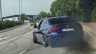 CRAZY BMW's Leaving Bimmerfest SIDEWAYS! M2, M3 E92/F80, M4, M5 E60/F10/F90, 335D, 550I etc!