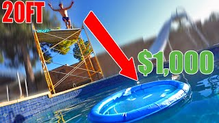 DIVE into the CIRCLE & WIN $1,000 (3 Story Tower)