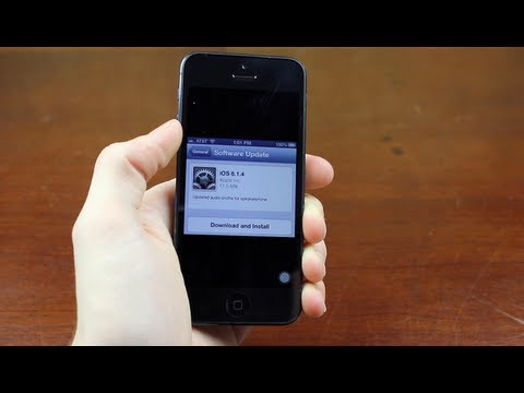 Jailbreak / Unlocking iOS 6.1.4 On The iPhone 5 (Information)
