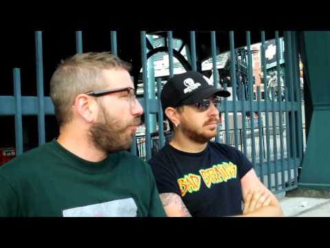 UTG TV: Alexisonfire's Dallas Green INTERVIEW [Part 1 of 2]