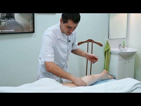 Массаж ног в клинике косметологии Моника