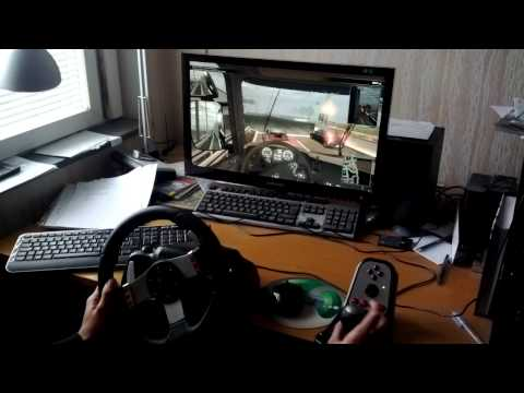 Scania Truck Driving Simulator with Logitech G27