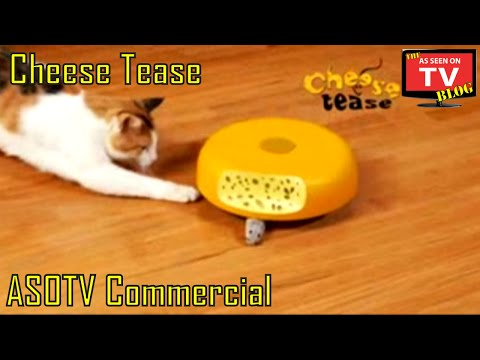 Cheese Tease As Seen On Tv Commercial Buy Cheese Tease As Seen On Tv Cat Toy Like Cats Meow video