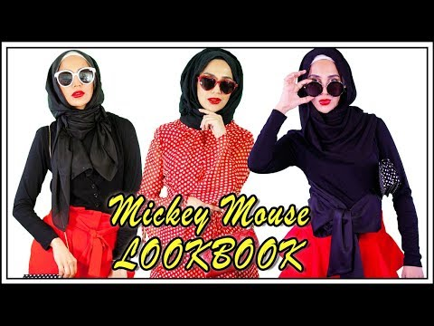 DISNEY LOOKBOOK - Mickey and Minnie Inspired Fashion | Ad | Amena - YouTube