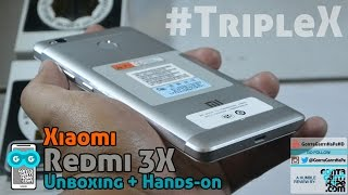 Download Xiaomi Redmi 3X - Unboxing, Hands-On, First Impression (Indonesia) 3Gp Mp4