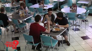 New to YouTube! Teens Dine and Dash l First Broadcast on 6/21/2013