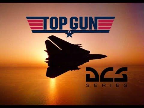 DCS World: F-14 Tomcat Kenny Loggins Danger Zone Top Gun movie Tribute