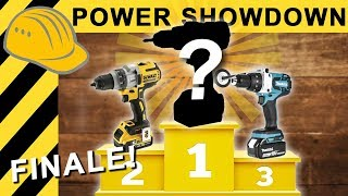 Akkuschrauber TEST EXTREM FINALE | Power Showdown TEIL 3 - HILTI, MAKITA, BOSCH