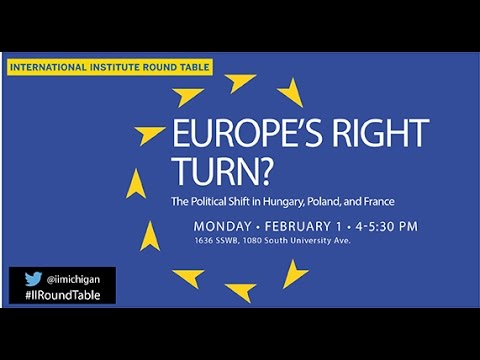 II Round Table: Europe's Right Turn?
