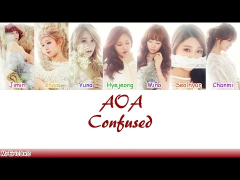 AOA (에이오에이): Confused (흔들려) Lyrics