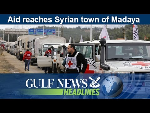 Aid reaches Syrian town of Madaya - GN Headlines