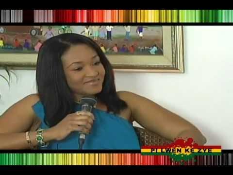 Nice Simon Pi lwen ke zye tv - show (Part 3)