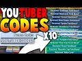 10 *NEW* YOUTUBER UPDATE CODES ON ROBOX BEE SWARM SIMULATOR (New Items!)