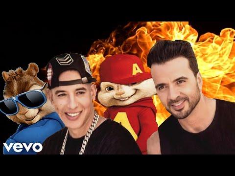 Luis Fonsi - Despacito ft. Daddy Yankee (Alvin Y Las Ardillas) + Letra
