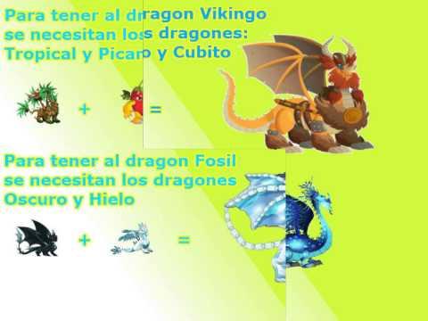 Combinaciones de la Cripta de Deus Dragon City