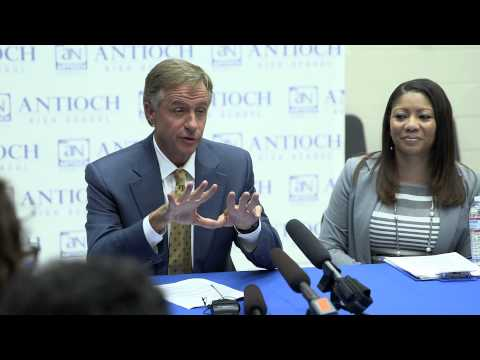 Gov. Bill Haslam : Tennessee Promise at Antioch