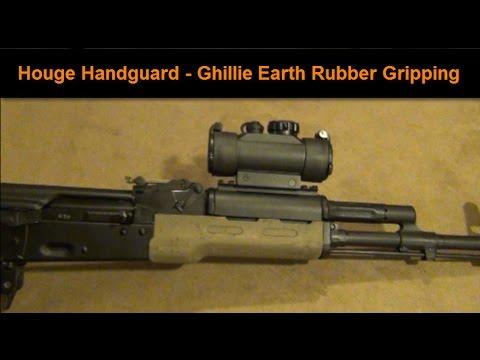 How to install a krebs custom keymod ufm handguard on a vepr rifle hd