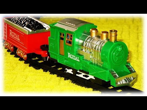 Union Pacific Green Retro Train Set