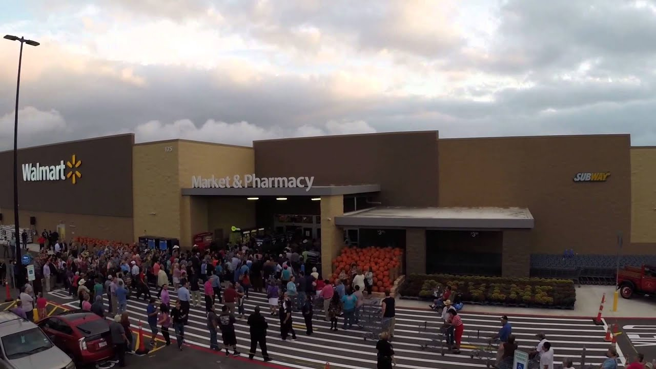 Walmart Grand Opening Devine Tx Dji Phantom Gopro Youtube