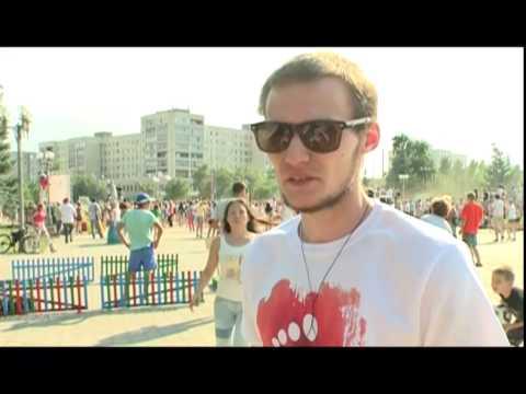 Первый Фестиваль красок Холи в Оренбурге
