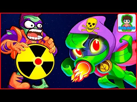 Игра Зомби против Растений  Герои от Фаника Plants vs zombies Heroes 1