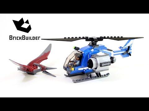 Lego Jurassic World 75915 Pteranodon Capture - Lego Speed Build