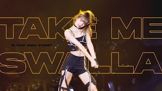 Download lagu (4k) 190615 BLACKPINK LISA Solo Stage 블랙핑크 리사 직캠 (Take me + Swalla) / 2019 WORLD TOUR in SYDNEY