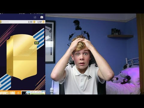 MY FIRST FUT PACK 18 PACK OPENING! *WALKOUTS*