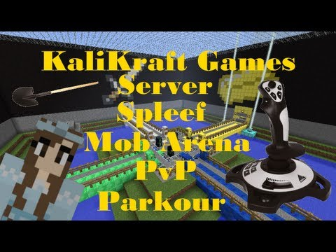 KaliKraft Games! Minecraft Server 1.4.7 - Play Spleef, PvP and Mob Arena!