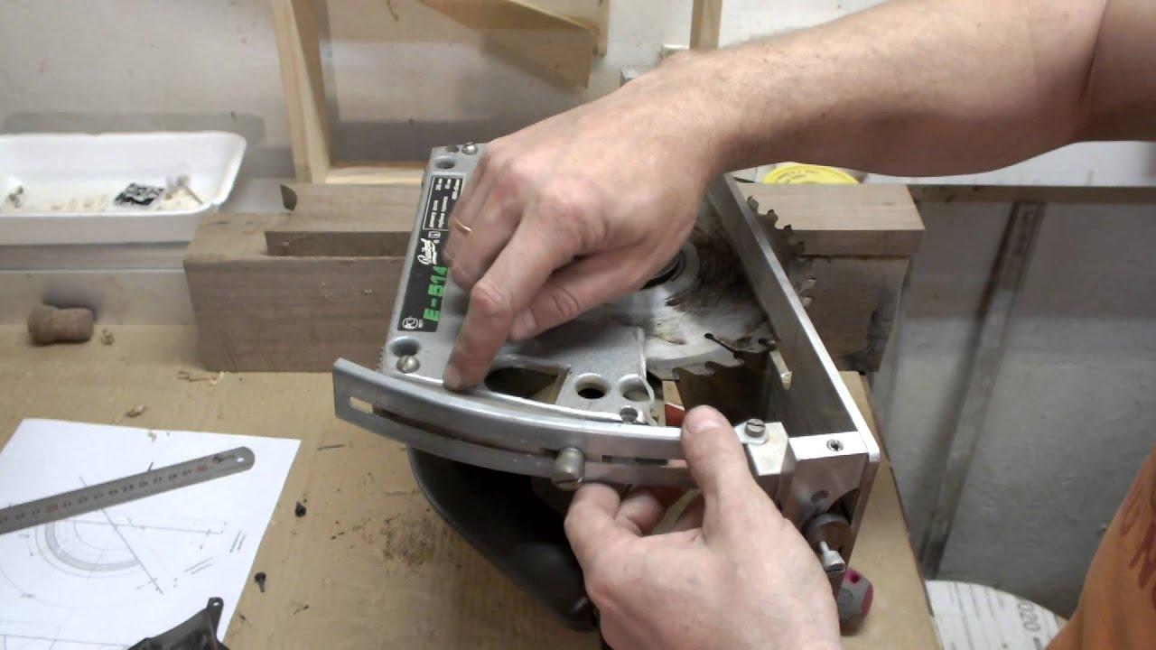 Ремонт циркулярной пилы своими руками.ремонт бытовой