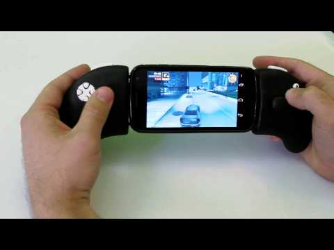 XOPAD Preview - First USB open source gamepad for Android phones (OTG and AOA modes)