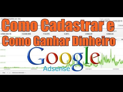 Como Cadastrar e Ganhar dinheiro com Google Adsense