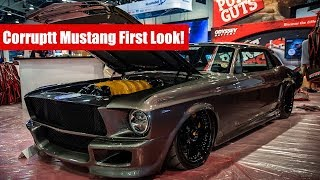 SEMA 2018: Exclusive first look at the Corruptt Mustang | Twin Turbo Ferrari powered Mustang!