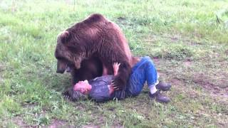Grizzly Bear Devours Trainer