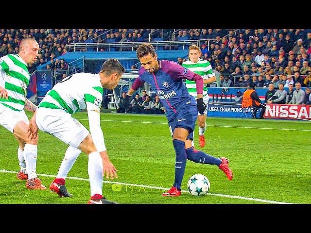 Neymar Destroying Celtic HD 1080i By Matan Jr