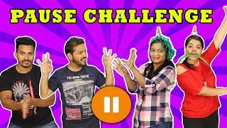 FUNNIEST PAUSE CHALLENGE I EXTREME PAUSE CHALLENGE I STATUE CHALLENGE