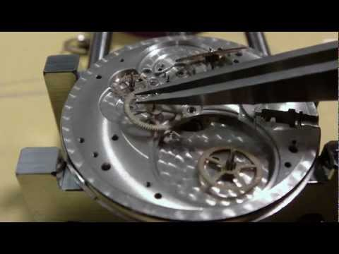 How I assemble a pocket watch. Hamilton 910. Part 1 of 2