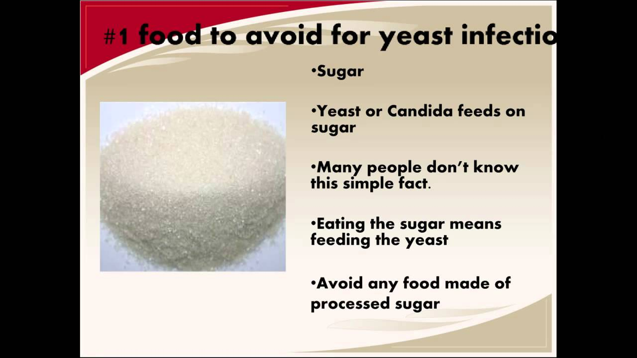 What Foods To Avoid With Yeast Infection