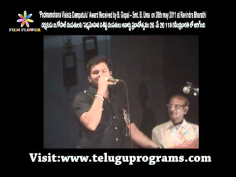 Indian Idol Sreeram Chandra Song Video At Ravindra Bharathi video