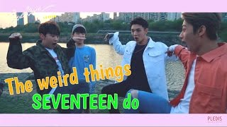 Why we love SEVENTEEN #34: The weird things SEVENTEEN do