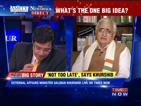 The Newshour Direct : Salman Khurshid