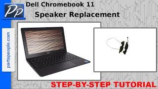 Dell Chromebook 11 Speaker Video Tutorial Teardown