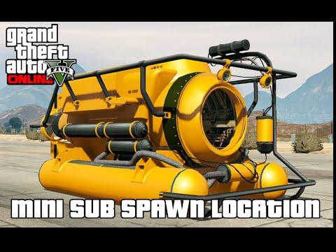 GTA V Online - Submarine / Mini Sub - San Chianski Mountain Range