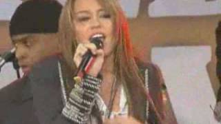 Клип Miley Cyrus - I Thought I Lost You (live)