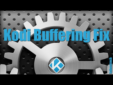 Kodi XBMC Buffering Fix With Easy Advanced Settings Addon